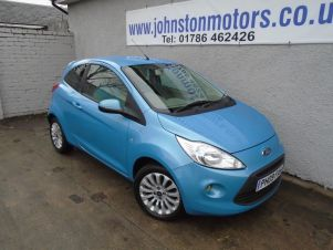 Latest Used Ford Ka Cars In Stirling And Falkirk