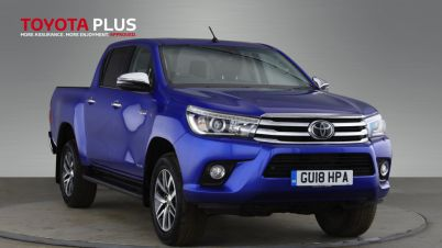 Used Toyota Hilux For Sale In City of London | Carsnip com
