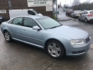 Used Audi A8 For Sale In Lancashire Carsnipcom