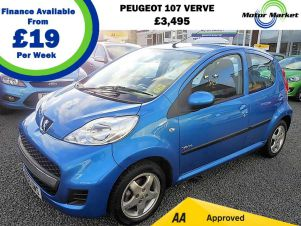 Used Peugeot 107 For Sale In Shropshire | Carsnip.com