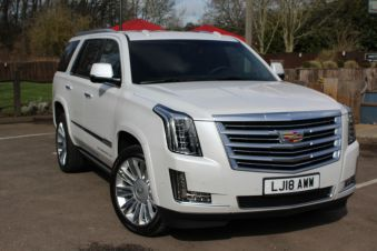 Latest used Cadillac Escalade cars in Devon
