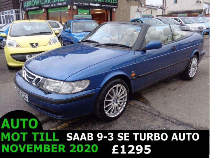 Cheap Used Saab Cars For Sale In Northfleet Kent Loot