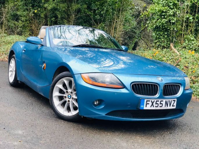 Cheap Used Blue Bmw Z4 Cars For Sale In Uk Loot